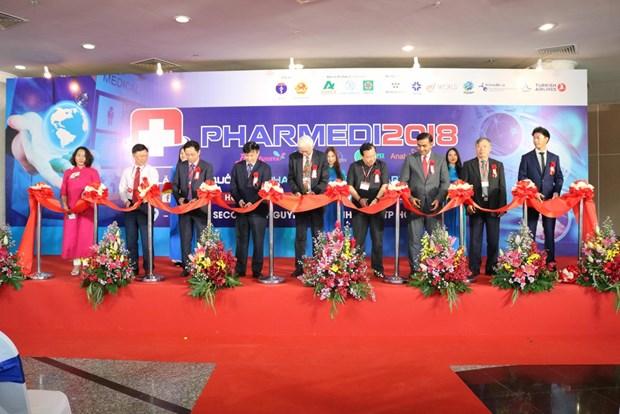 Inauguran Exposicion Internacional de Salud y Farmacia en Vietnam hinh anh 1