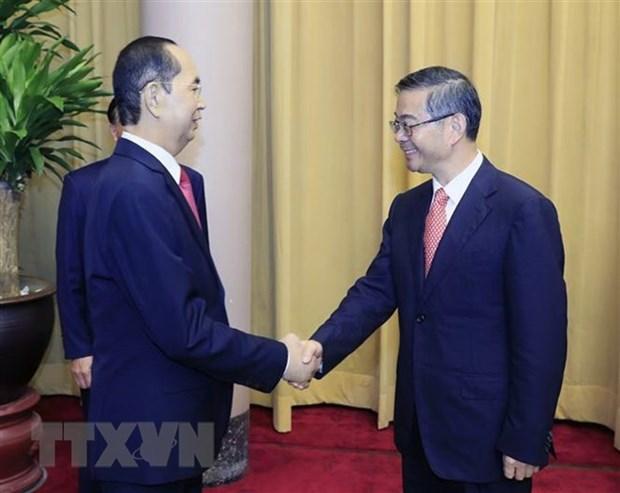 Presidente de Vietnam aboga por mayor cooperacion con China en reforma judicial hinh anh 1