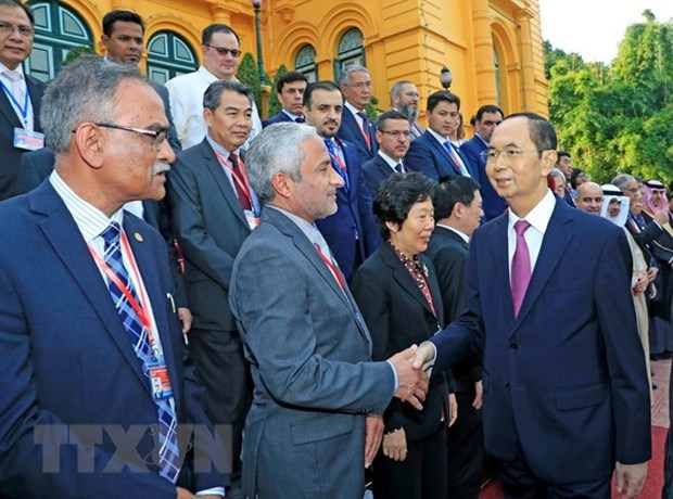Presidente de Vietnam destaca papel de ASOSAI al desarrollo en entidades fiscalizadoras superiores hinh anh 1