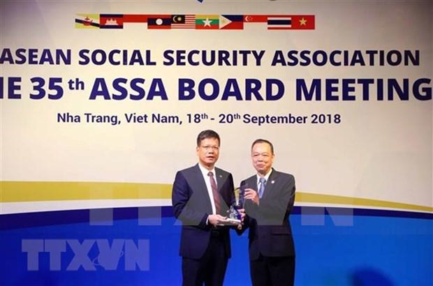 Honran 17 proyectos destacados de entidades miembros de Asociacion de Seguridad Social de ASEAN hinh anh 1