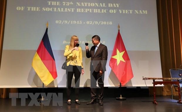 Destacan progreso de las relaciones entre Vietnam y Alemania hinh anh 1