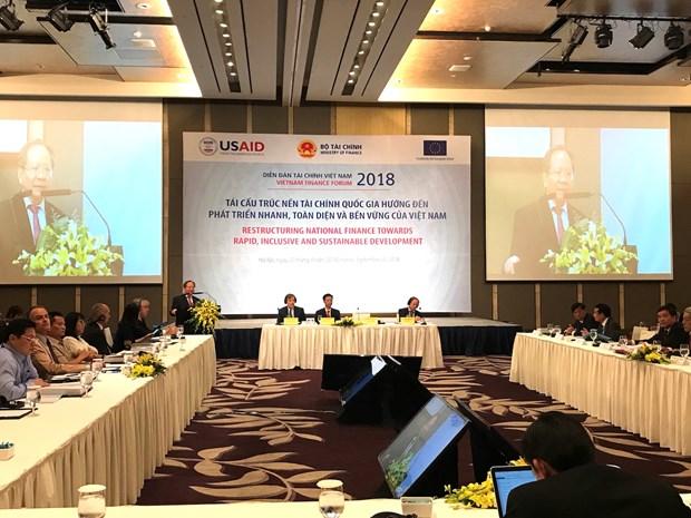Destacan necesidad de reestructuracion financiera hacia desarrollo rapido y sostenible en Vietnam hinh anh 1