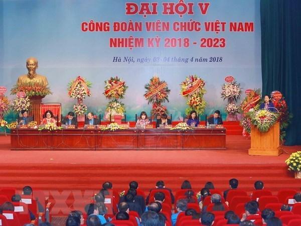 Centenares de delegados participaran en el XII Congreso de Sindicatos de Vietnam hinh anh 1
