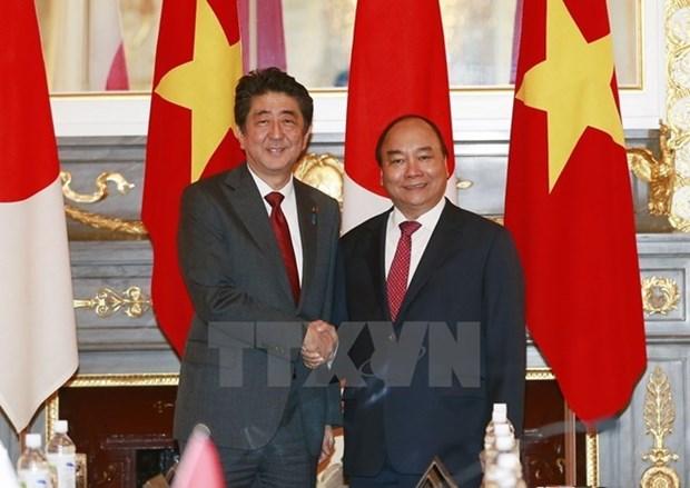 Vietnam envia felicitaciones a Japon por el 45 aniversario de nexos bilaterales hinh anh 1