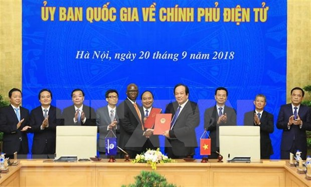 Comite nacional sobre gobierno electronico de Vietnam efectua su primera reunion hinh anh 1