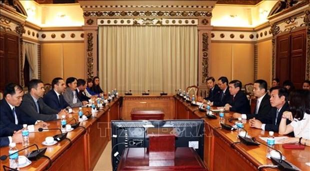 Ciudad Ho Chi Minh y Bulgaria fomentan la cooperacion economica hinh anh 1