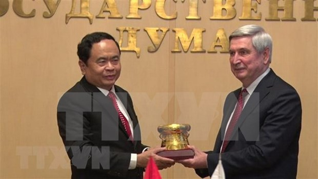 Vietnam y Rusia intensifican asociacion estrategica integral hinh anh 1
