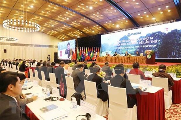 Efecfuan en Hanoi segundo plenario del XIV Asamblea de ASOSAI hinh anh 1