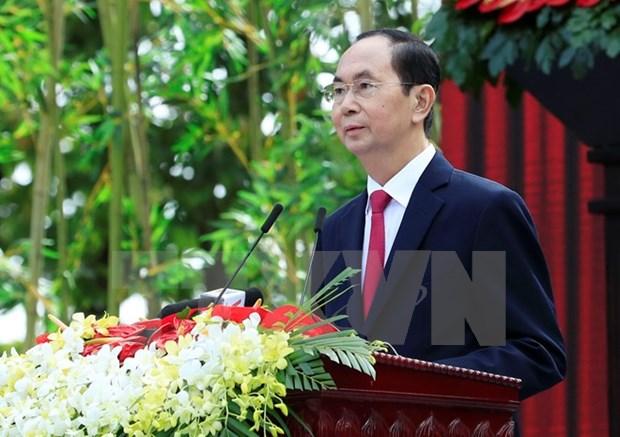 Lideres del mundo trasladan sus condolencias a Vietnam hinh anh 1