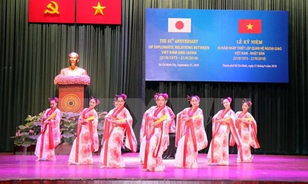 Resaltan progreso energico de las relaciones multifaceticas entre Vietnam y Japon hinh anh 1