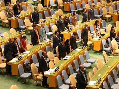 Asamblea General de la ONU guarda minuto de silencio por el presidente de Vietnam hinh anh 1
