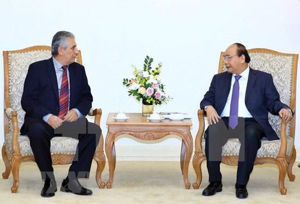 Premier vietnamita recibe a presidente de Confederacion Sindical Internacional hinh anh 1