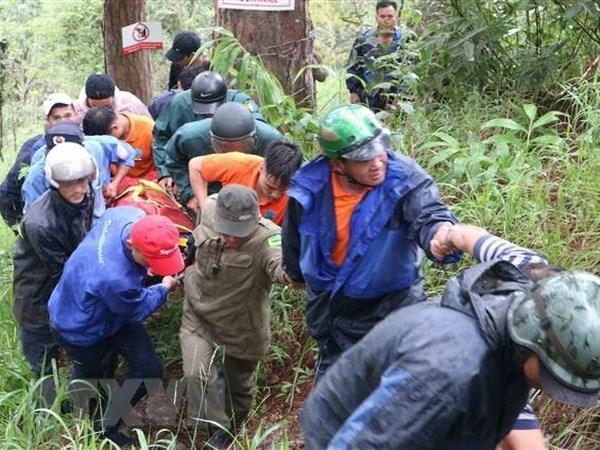 Vietnam cierra temporalmente tours de aventura en cascada Datanla hinh anh 1