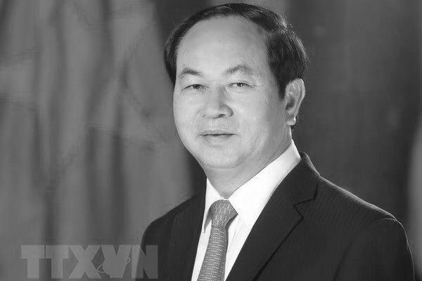 Dirigentes mundiales transmiten condolencias por el deceso del presidente de Vietnam hinh anh 1