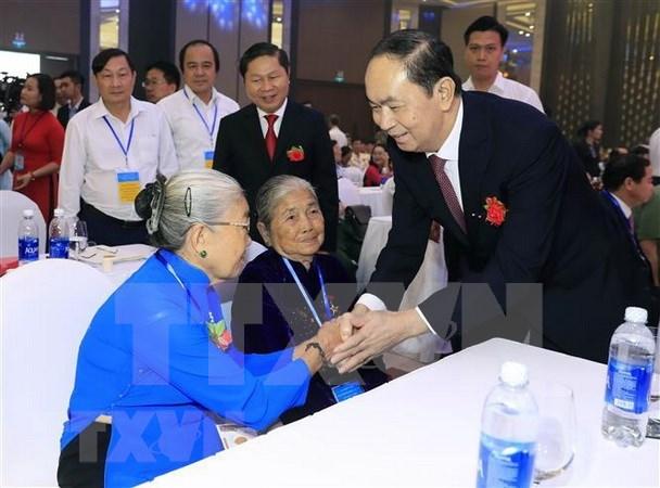 Presidente Dai Quang, un hijo eminente de provincia vietnamita de Ninh Binh hinh anh 1