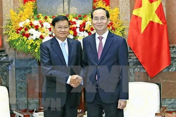 Laos decreta duelo nacional en homenaje al presidente de Vietnam hinh anh 1
