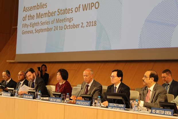WIPO guarda minuto de silencio por fallecimiento de presidente de Vietnam Tran Dai Quang hinh anh 1