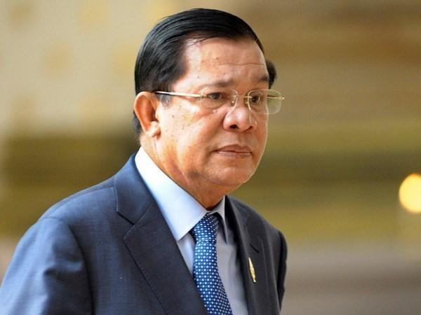 Premier camboyano rendira homenaje al presidente vietnamita Tran Dai Quang en Hanoi hinh anh 1