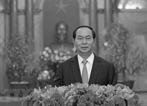 Resaltan legado de presidente vietnamita Tran Dai Quang en la policia popular hinh anh 1