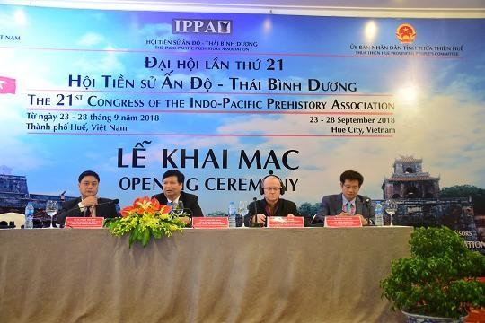 Ciudad imperial vietnamita acoge Congreso de Asociacion de Prehistoria del Indo-Pacifico hinh anh 1