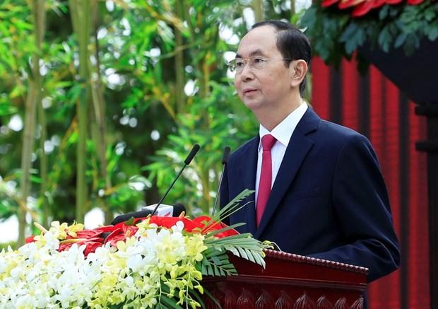Personalidades del mundo expresan condolencias por fallecimiento del presidente de Vietnam Tran Dai Quang hinh anh 1