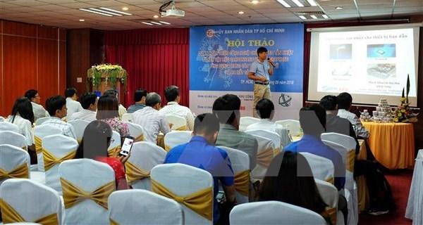 Destacan calidad del pegamento para disipadores de calor hecho en Vietnam hinh anh 1
