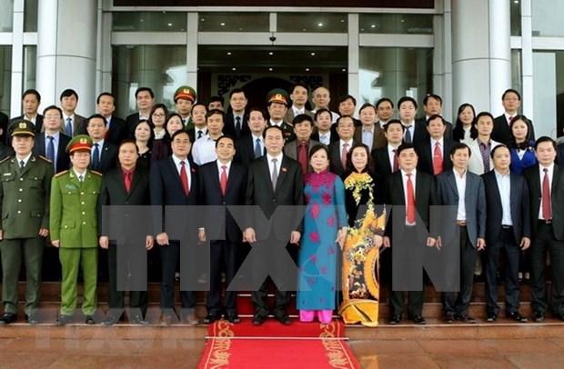 El presidente vietnamita Tran Dai Quang sentia especial afecto por su tierra natal Ninh Binh hinh anh 1