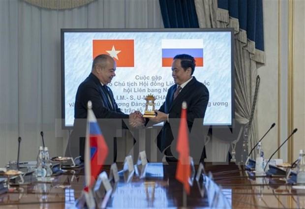 Vietnam y Rusia por fomentar cooperacion entre organos legislativos hinh anh 1