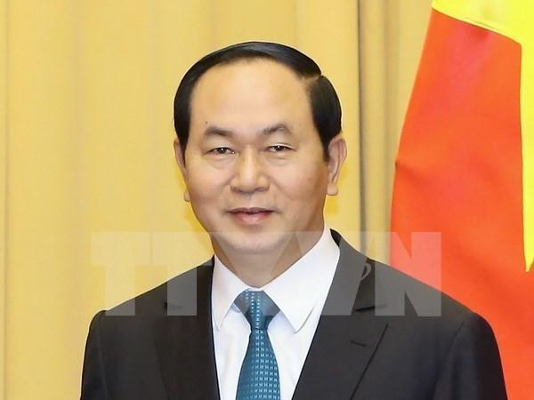 """Tran Dai Quang, presidente """"amado y respetado por muchos"""" hinh anh 1"""