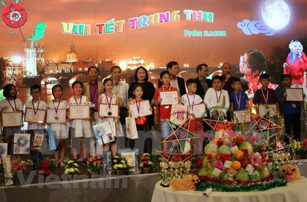 Comunidad vietnamita en Republica Checa celebra Festival de Medio Otono hinh anh 1