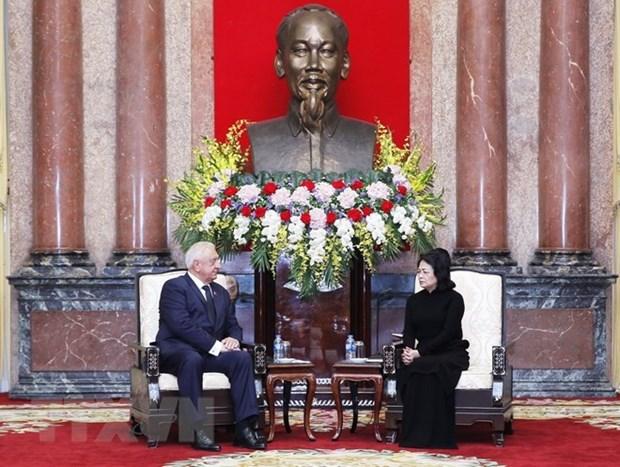 Vietnam atesora nexos de amistad con Belarus, afirma presidenta interina hinh anh 1