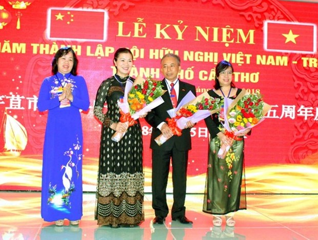 Ciudad vietnamita intensifica relaciones de amistad con China hinh anh 1