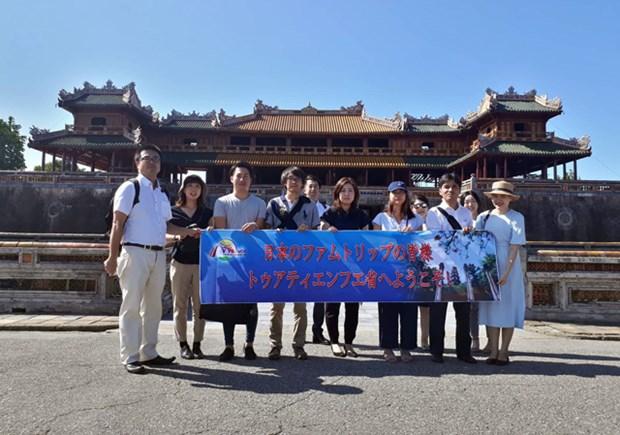 Agencias japonesas estudian potencialidades turisticas de ciudad vietnamita de Hue hinh anh 1