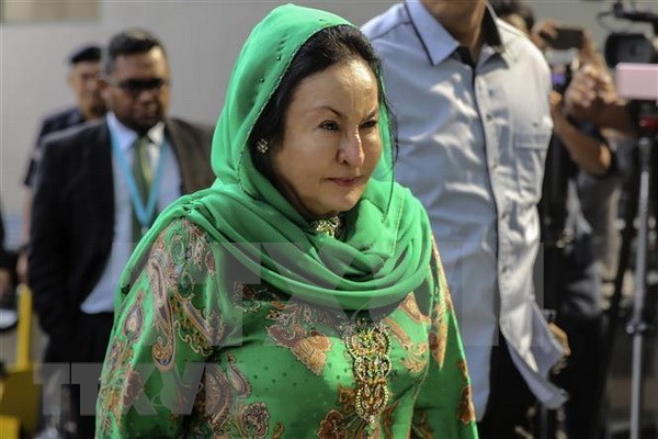 Interrogan a esposa del expremier Najib Razak por supuestos vinculos con caso de corrupcion hinh anh 1