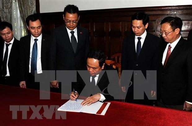 Vietnamitas y amigos internacionales en ultramar destacan personalidad del presidente Tran Dai Quang hinh anh 1