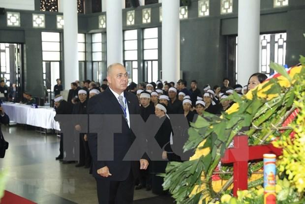 Mensajes de solidaridad siguen llegando a Vietnam por fallecimiento de presidente Dai Quang hinh anh 1
