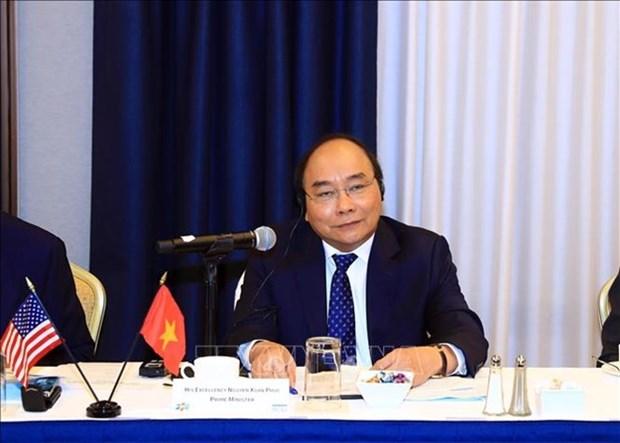 Premier de Vietnam preside coloquio en Estados Unidos sobre atraccion inversionista hinh anh 1