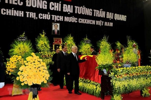 Vietnam realiza homenaje postumo al presidente Tran Dai Quang hinh anh 2