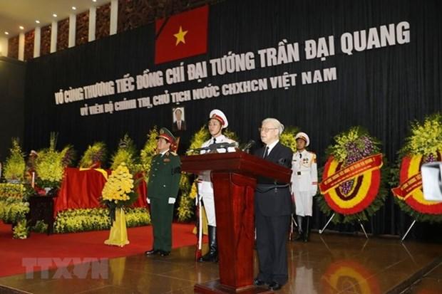 Vietnam realiza homenaje postumo al presidente Tran Dai Quang hinh anh 1