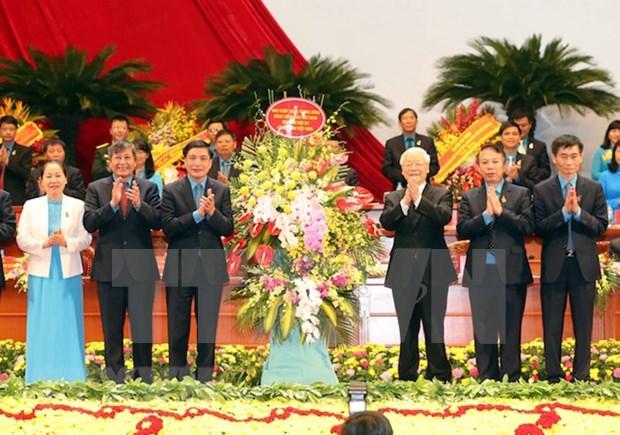 Organizaciones sindicales vietnamitas robustecen acciones a favor de los trabajadores hinh anh 1