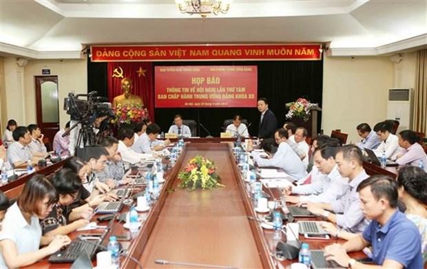 Octavo pleno del Partido Comunista de Vietnam se efectuara la proxima semana hinh anh 1