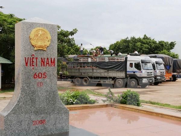 Vietnam y Laos impulsan cooperacion comercial en areas fronterizas hinh anh 1