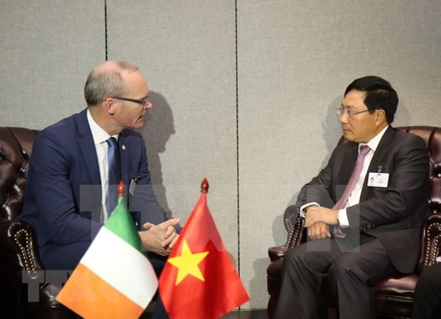 Vietnam promueve nexos con varios paises al margen de 73 plenaria de Asamblea General de ONU hinh anh 1