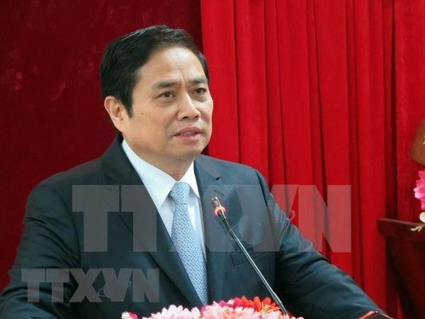 Dirigente vietnamita recibe a delegacion del Partido Comunista de China hinh anh 1