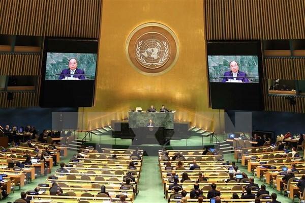 Vietnam apoya papel central de ONU en sistema multilateral, afirma Premier hinh anh 1