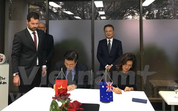 Vietnam y Australia cooperan en formacion de abogados hinh anh 1