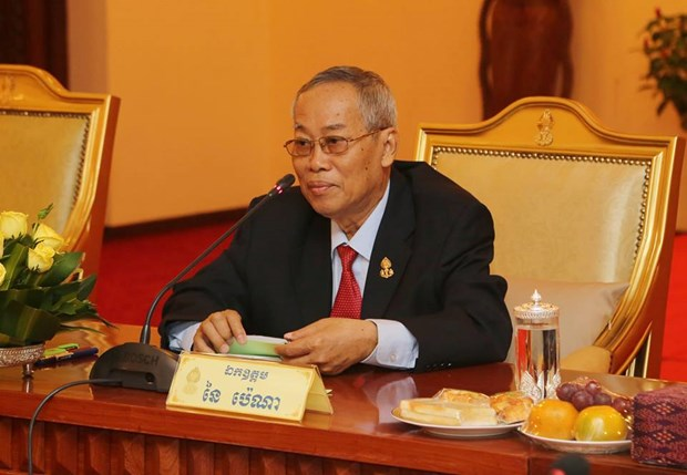 Fallece primer vicepresidente del Senado de Camboya hinh anh 1