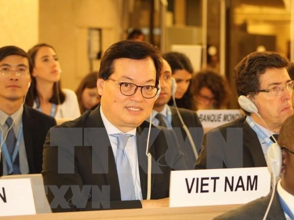 Vietnam participa activamente en sesion del Consejo de Derechos Humanos hinh anh 1