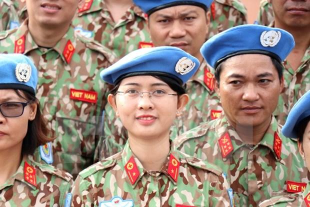 Participar en misiones de paz de ONU materializa la politica exterior de Vietnam, afirma su viceministro de Defensa hinh anh 1