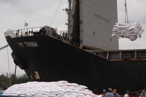 Vietnam exporta cerca de cinco millones de toneladas del arroz en lo que va de ano hinh anh 1